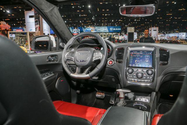 2019 Dodge Durango interior
