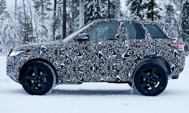 2019 Land Rover Defender side