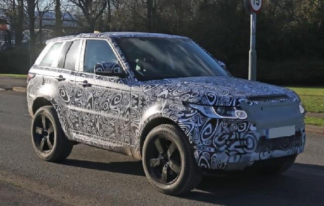 2019 Land Rover Defender spy shots
