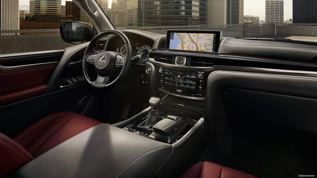 2019 Lexus LX 570 Two-Row interior