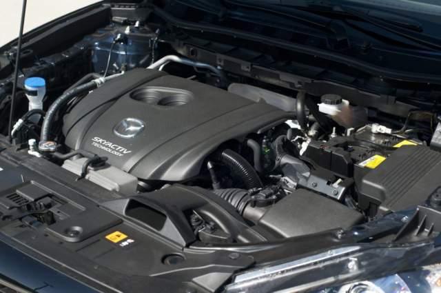 2019 Mazda CX-7 engine