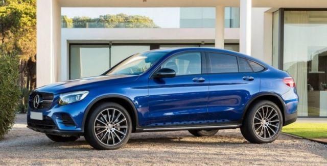 2019 Mercedes-Benz GLC side