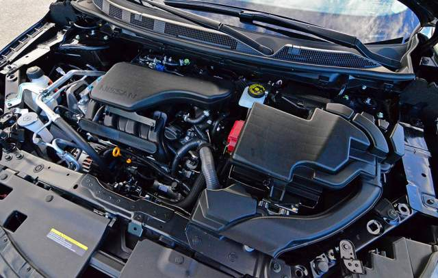2019 Nissan Rogue Sport engine