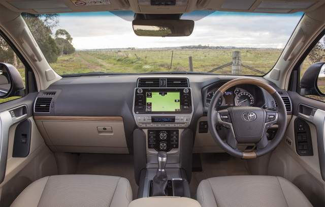 2019 Toyota Land Cruiser Prado interior