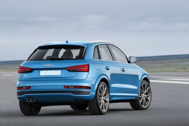 2019 Audi Q3 rear