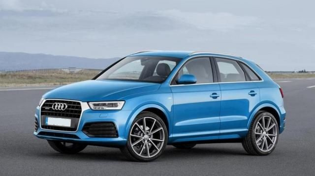 2019 Audi Q3 side