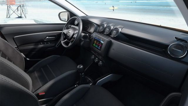 2019 Dacia Duster interior