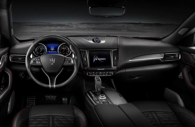 2019 Maserati Levante Trofeo interior view