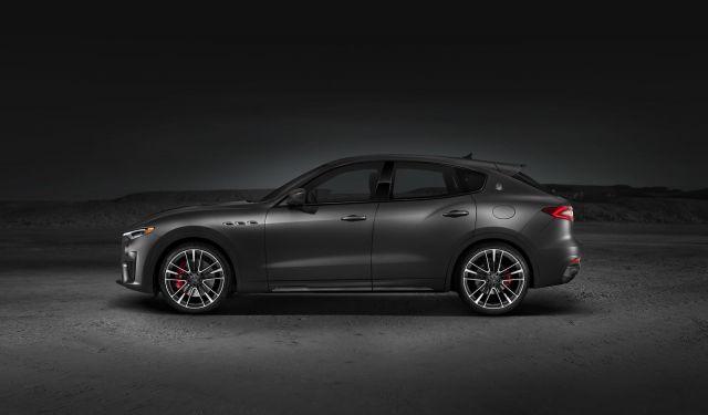 2019 Maserati Levante Trofeo side view