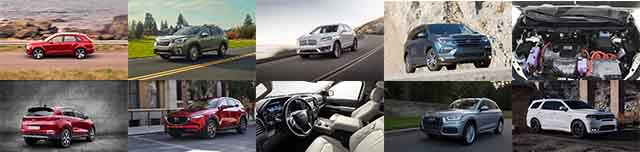 Top 10 New SUVS for 2019