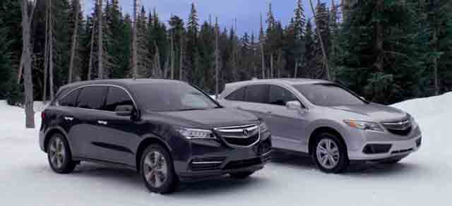 2019 Acura MDX vs 2019 Acura RDX side