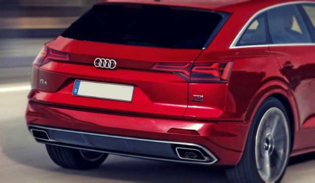 2019 Audi Q4 rear end