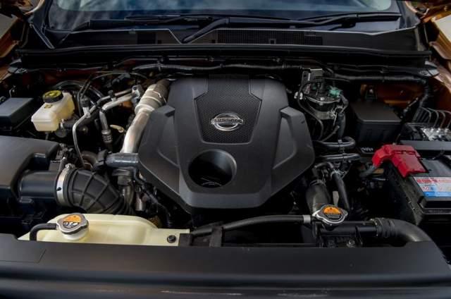 2019 Nissan Paladin diesel engine