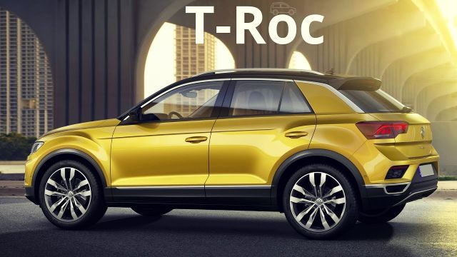 2019 Volkswagen T-Roc side