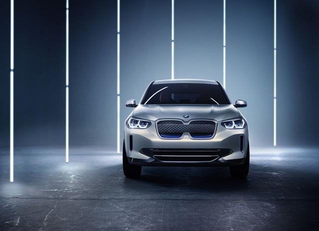2020 BMW iX3 front