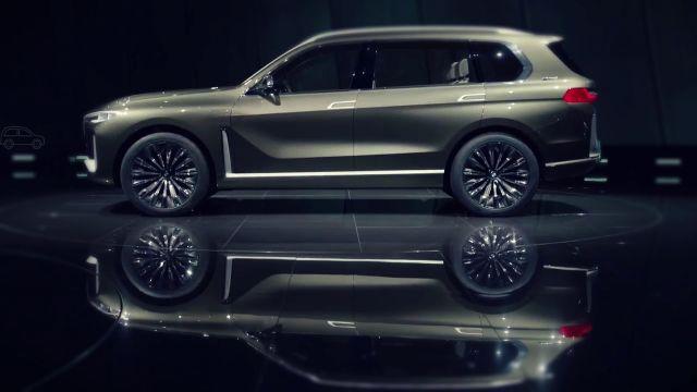2019 BMW X7 side