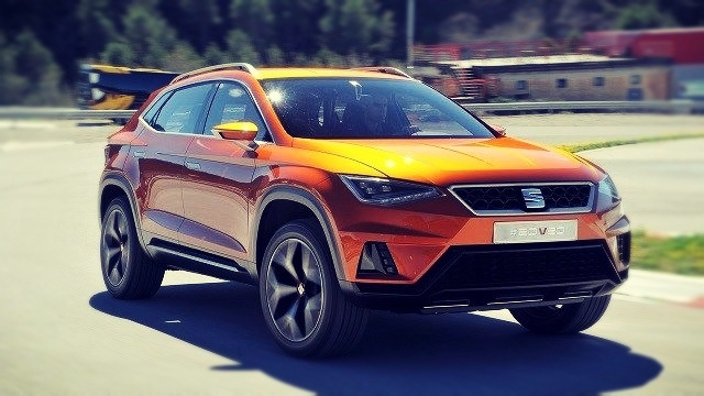 2019 Seat Alora front look