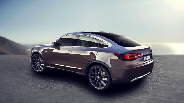2019 Tesla Model Y rear