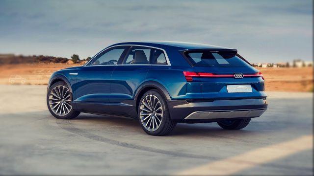 2020 Audi Q6 e-tron rear