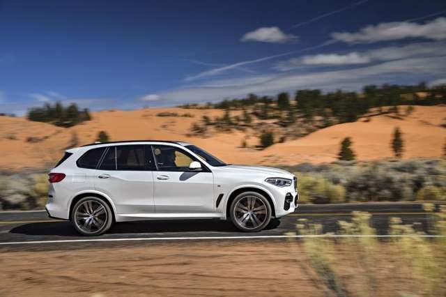 2019 BMW X5 Diesel side
