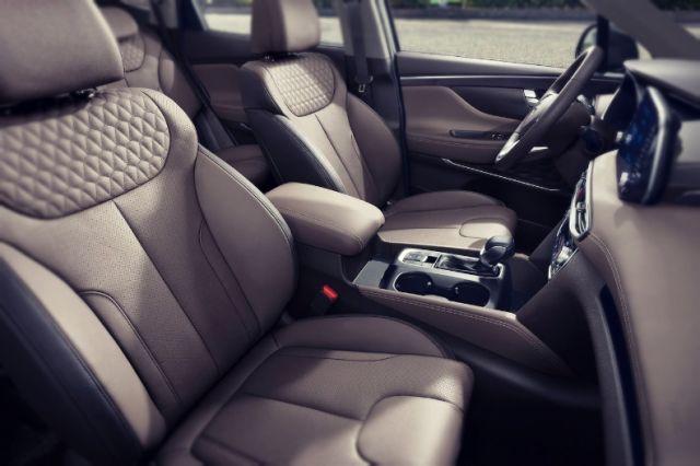 2019 Hyundai Santa Fe N interior