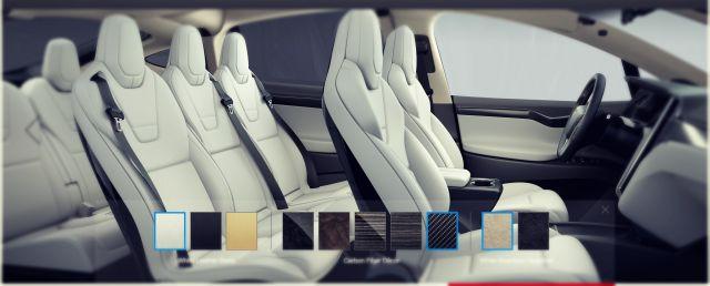 2019 Tesla Model X interior