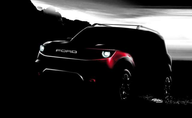 2020 Ford Bronco 4-Door teaser