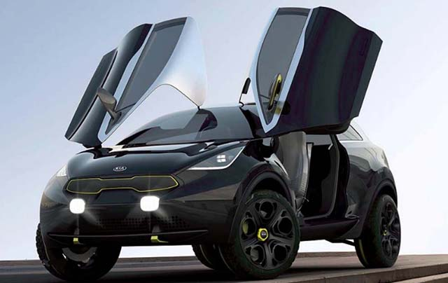 2020 Kia Sportage concept