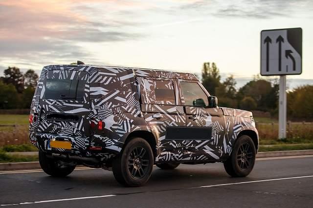 2020 Land Rover Defender four-door