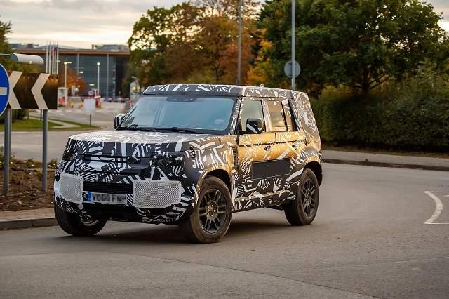 2020 Land Rover Defender redesign