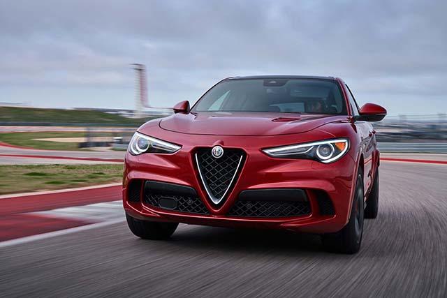 2020 Alfa Romeo Stelvio Quadrifoglio max speed