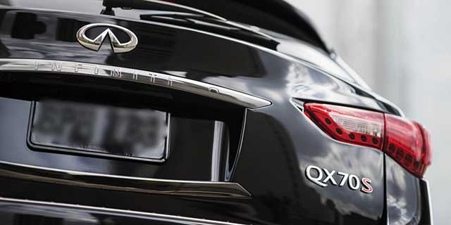 2020 Infiniti QX70 changes