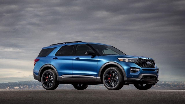 2020 Ford Explorer ST options