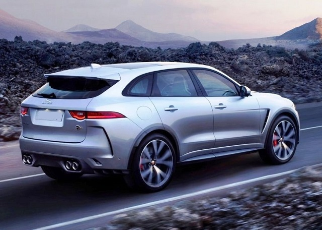 2020 Jaguar F-Pace facelift