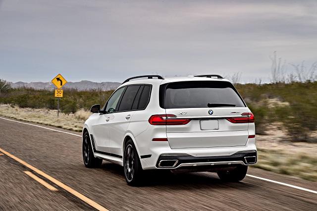 2020 BMW X7 msrp