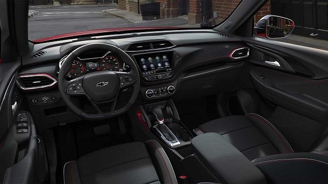 2021 Chevy Trailblazer interior