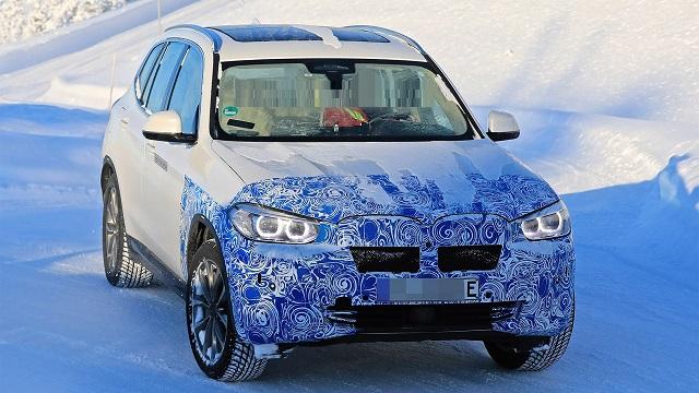2021 BMW X3 changes