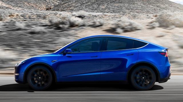 2021 Tesla model y range