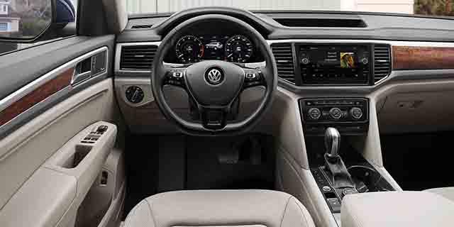 2021 VW Atlas interior