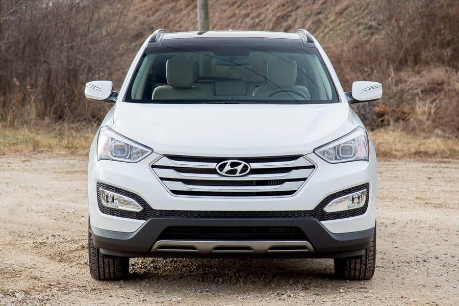 Comparison  Hyundai Santa Fe Sport 2016  Vs  Honda Hrv