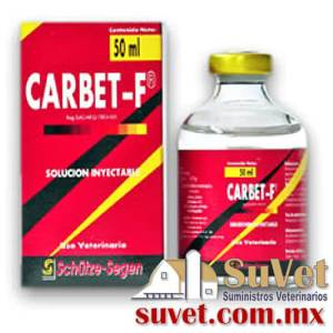 CARBET-F Descontinuado frasco de 50 ml - SUVET