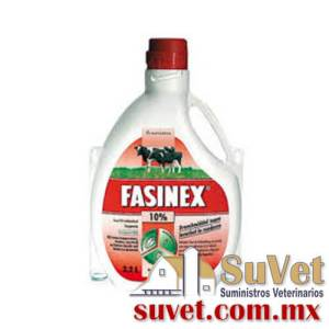Fasinex 10% Out of stock DESCONTINUADO frasco de 1 lt - SUVET