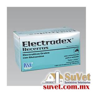 ELECTRODEX® Becerros  caja con 5 sobres de 18 gr - SUVET