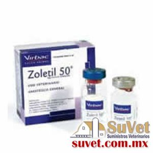 Zoletil® 50 frasco de 5 ml - SUVET