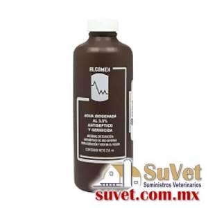 Agua Oxigenada al 3.5% frasco de 1000 ml - SUVET
