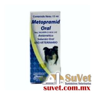 Metropramid Oral frasco de 15 ml - SUVET