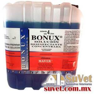Bonux Solución garrafa de 4 lt - SUVET