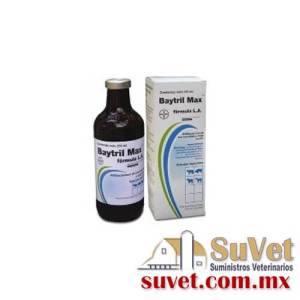Baytril Max frasco de 100 ml - SUVET