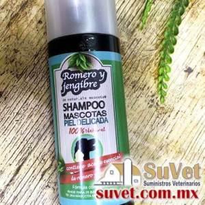 Shampoo Detox de Romero y carbón activado Envase de 240 ml - SUVET