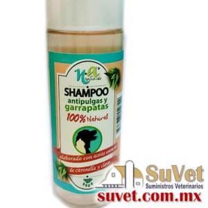 Shampoo Antipulgas Envase de 240 ml - SUVET